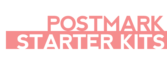 postmark society starter kits | a new journey